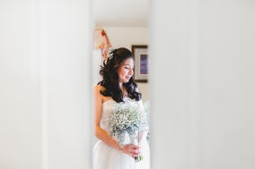 Walkerbrae House Winter Wedding by Gary Evans Photography